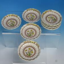 Copeland Spode China - Buttercup - 11 Butter Pats Plates - 3½ inches