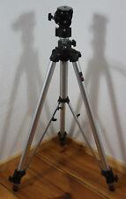 MANFROTTO dreibein STATIV Tripod Fotostativ MODEL 117 m. STATIVKOPF Model 136