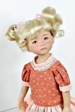 Pale Blonde Doll Wig Size 7/8� Fits Vintage And Modern Dolls