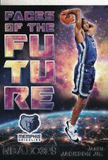 2018-19 NBA Hoops Faces of the Future - Jaren Jackson Jr. #4 - Memphis Grizzlies