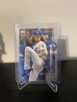 Dustin May Topps 2020 Uk Edition Baseball Rookie Card RC La Dodgers
