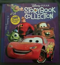 Disney STORYBOOK COLLECTION Brand NEW HARDCOVER BOOK Stickers! Rare