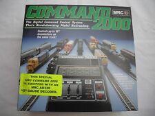 MRC AD140 Command 2000, DCC Digital Control System, AD320 Decoder, Train G Scale