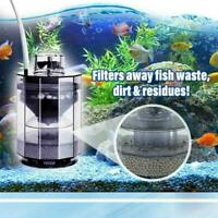 Multi-Stage Aquarium Filter System Cleaning Fish Tank Household Filters Goo N5G2