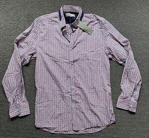 BNWT Witchery Man Dane Check Men's Shirt – Red - Size XL - RRP$99.95