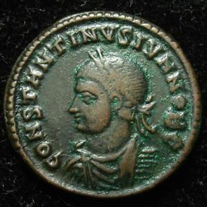 Constantine II AE3 centenionalis PROVIDENTIAE CAESS, Nicomedia 324-325AD, RIC 93