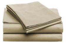 Super-Soft 1600 Series Double-Brushed 6 Pcs Bed Sheets Set (Full) Khaki