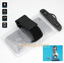 Universal Waterproof Case Dry Bag for iPhone 4 4s 5 5s 6 6s Plus Transparent UK
