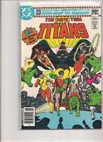 New Teen Titans #1 1980 First Printing DC Comic Book