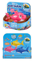 PINK MOMMY - ROBO ALIVE - PINKFONG SWIM & SING SHARK - MADE BY ZURU - AUTHENTIC