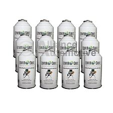 Enviro-Safe AC Refrigerant R134a Replacement + Dye 12-6oz Cans (1 Case)