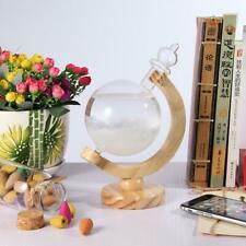 Weather Forecast Crystal Drops Globe Shape Storm Glass Home Decoration