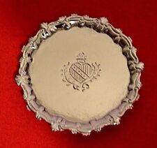 Dollhouse Sterling Silver Tray Miniature Eugene Kupjack 1:12 Artist Piece