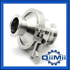 QM Stainless Steel Check Valve 1 Inch Clamp Sanitary SS304  Non Return Valve