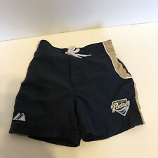 San Diego Padres Kids Shorts, Swimsuit, Navy Blue, 12 Months Size