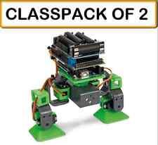 (PACK OF 2) Velleman VR204 ALLBOT 2 Legged Expandable ARDUINO PROGRAMMABLE Robot