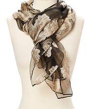 Scarf Silk Wrap Floral Paisley Women Stoles Shawl Soft Silk Fashion Scarfs Gifts