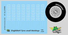 [FFSMC Productions] 1/43 Decals Englebert markings for tyres (small size)