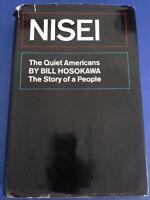 Signed NISEI by Bill Hosokawa JAPANESE AMERICAN pioneers INTERNMENT WWII ...