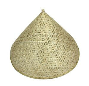 Thai Bamboo Lampshade, or Food Cover - 31.5cm diameter. Hand woven in Thailand.