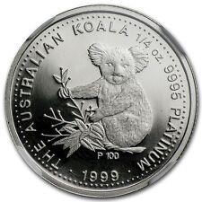 RARE ~ 1999 P ~ $25 PLATINUM PROOF ~ KOALA BEAR ~ 1/4~OZ ~ NGC PF~69 UC ~$888.88