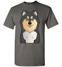 Finnish Lapphund Dog Cartoon T-Shirt Tee - Men Women Youth Tank Long