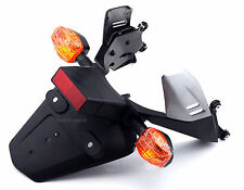 Rear Fender License Plate Mount Bracket Turn Signal For Honda CBR1000RR CBR600RR