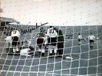 BERT TRAUTMANN SIGNED MANCHESTER CITY 1956 FA CUP FINAL 16x12 PHOTO COA & PROOF