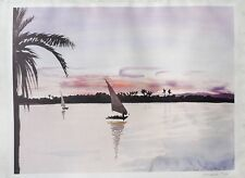 Patrick Procktor (1936-2003) Signed lithograph 'The Nile', ed. 500