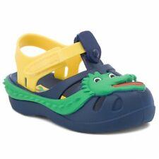 Ipanema Summer Zoo Crocodile Sandals Boys Infant Beach Shoes Navy UK Size 5 K