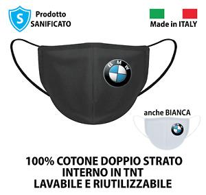 MASCHERINA COTONE BMW PERSONALIZZATA | 100% MADE IN ITALY