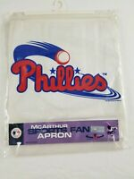 Factory Sealed! Vintage Philadelphia Phillies Apron MLB Baseball BBQ McArthur A5