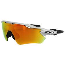 Oakley Sunglasses Radar EV Path OO9208-02 Silver Fire Iridium Lens