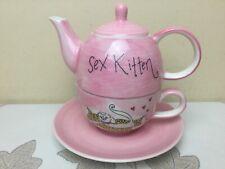 Whittard Of Chelsea Tea For One Sex Kitten Looks Unused Condition