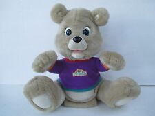 Vintage Teddy Ruxpin TV Teddy Bear Electronic Interactive #2079