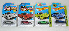 BRAND NEW HOT WHEELS PAGANI HUAYRA SET OF 4 CARS HW CITY WORKSHOP LONG CARD RARE