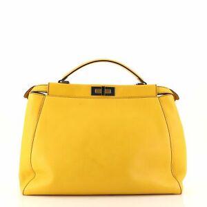 Fendi Peekaboo Bag Soft Leather Large
