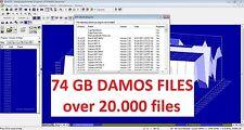 DAMOS FILES (74 GB ) + bonus - WinOls 2.24 + guides and manuals