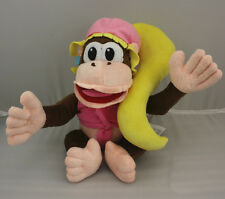 "Dixie Kong Super Mario Brother 7.5"" Plush Doll Stuffed Toy Monkey Girl Pink NEW"