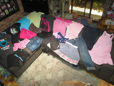 Bulk lot women's sz 10/Small summer clothes: Converse/O&E Honey/Billabong/Esprit