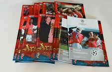 More details for arsenal home programmes complete set 1998/99 (x26) (pl/fac/lc/cl) – all mint