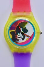 Warhol Skull watch - Retro 80s designer watch