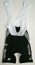 Bib Shorts Adidas T-Mobile Made in Italy Black Rare For Cycling Cyclist Sport