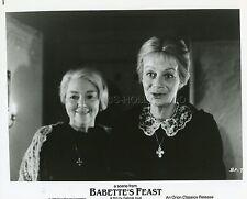BIRGITTE FEDERSPIEL BODIL KJER LE FESTIN DE BABETTE 1987 PHOTO ORIGINAL #5