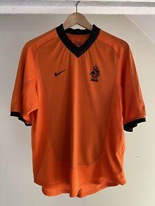 NETHERLANDS Men's Nike Football Shirt 2001