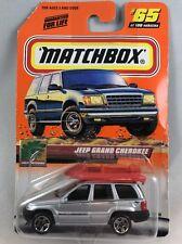 Matchbox Jeep Grand Cherokee #65 MOC NIP Vintage Diecast Silver
