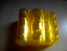 10 blisters para monedas de 1euro  blister moneda color amarillo