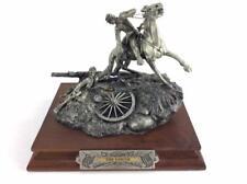 "Pewter Sculpture: Civil War Barnum ""The Rescue"" Limited Ed. 71/2500"
