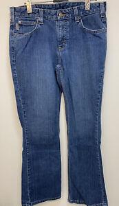Vintage Carhartt Womens Blue Jeans W30 Inch /L29 Inch