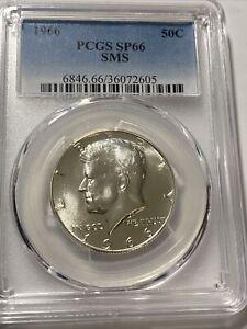 1966 SMS Kennedy Silver Half Dollar PCGS SP66